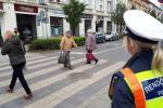 Ellenőrzés a gyalogosok biztonságáért
